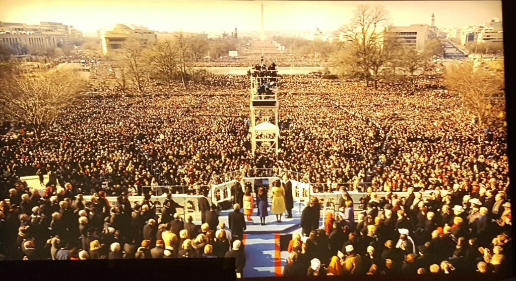 More of President Obama's inauguration.