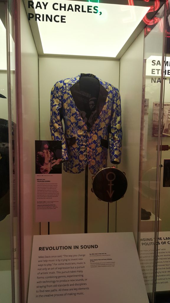 Ray Charles and Prince exhibit