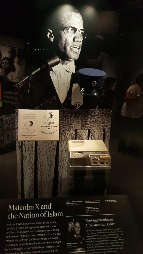Malcolm X's tape recorder.