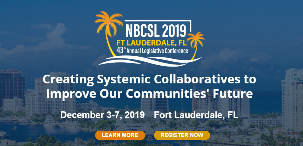 NBCSL 2019 conference